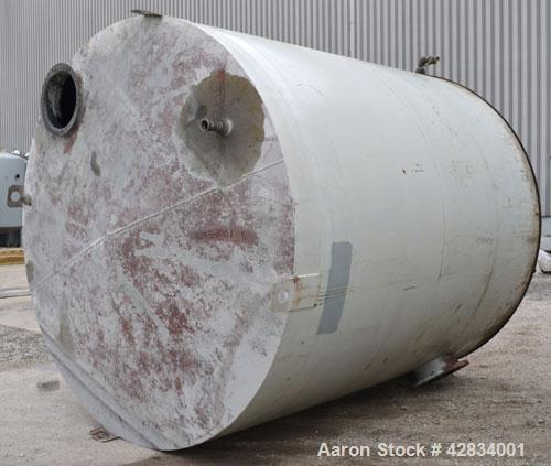 Used- Clawson Tank Company Aboveground Flammable Liquid Storage Tank, 7500 Gallon, Carbon Steel. 126'' Diameter x 144'' stra...