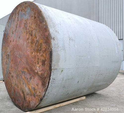 Used- Clawson Tank Company Aboveground Flammable Liquid Storage Tank, 7000 Gallon, Carbon Steel. 126'' Diameter x 132'' stra...