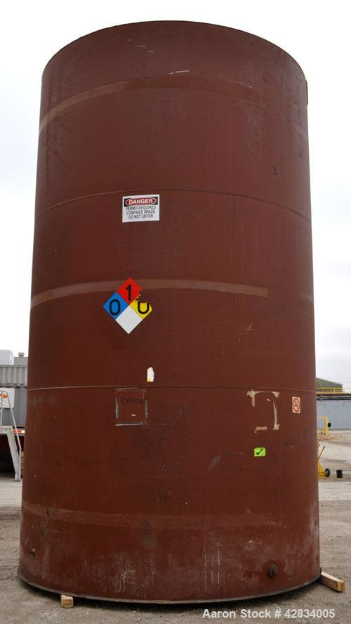Used- Clawson Tank Company Aboveground Flammable Liquid Storage Tank, 11,500 Gallon, Carbon Steel. 126'' Diameter x 216'' st...