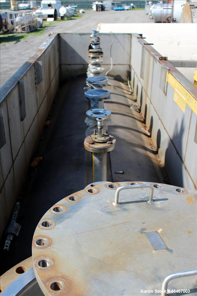 Used- 10,000 Gallon Carbon Steel Enerfab Double Wall Pressure Tank