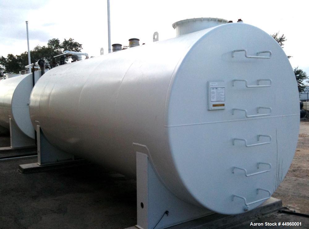 Used- 4000 Gallon Double Wall Fireguard Tank