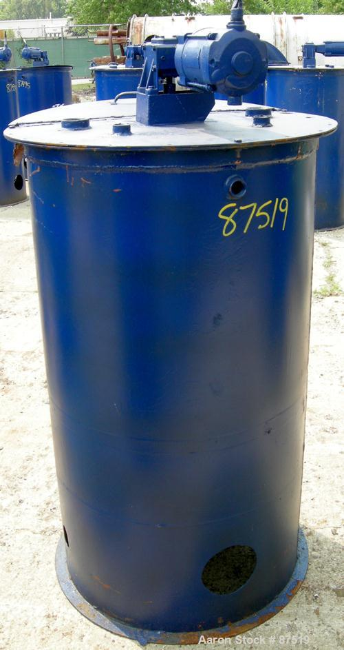Used- 125 Gallon Carbon Steel Graco Mix Tank