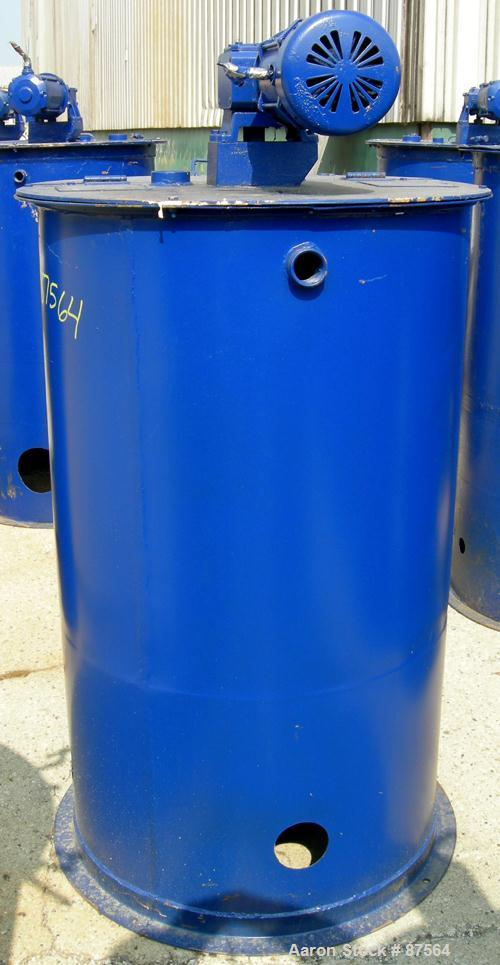 Used- 100 Gallon Carbon Steel Graco Mix Tank