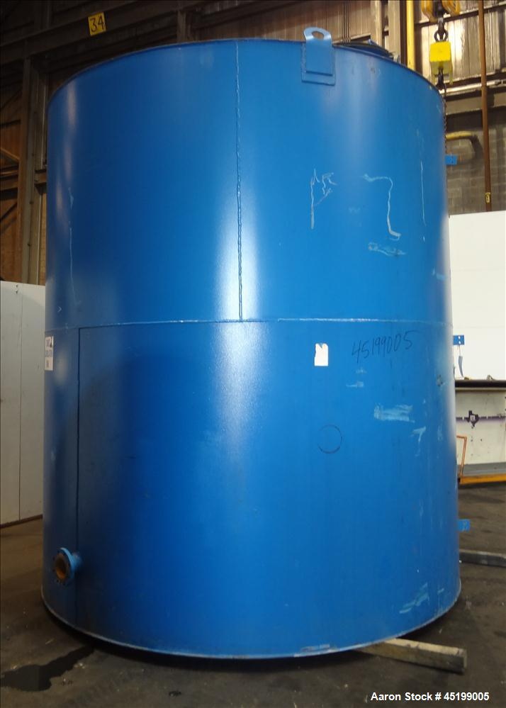 "Used- International Production Specialist Tank, 6700 Gallon, Carbon Steel, Vertical. Approximate 120"" diameter x 138"" straig..."