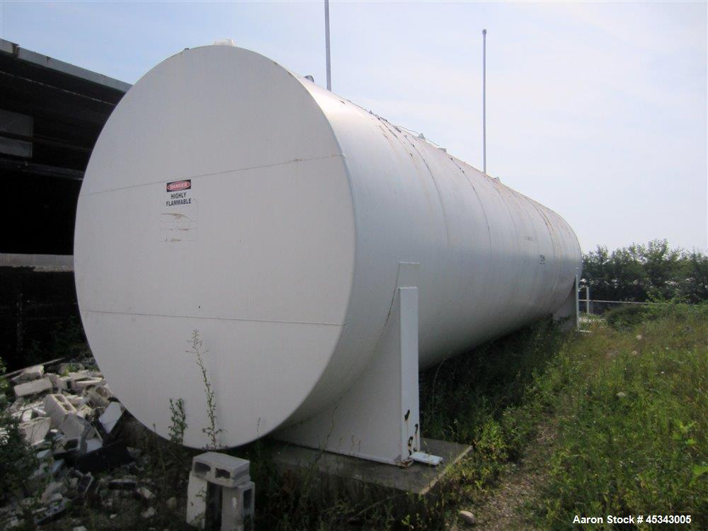 Used-International Production Specialists Tank, Approximately 30,000 Gallons. Dual chambered 10,000 gallon / 20,000 gallon, ...
