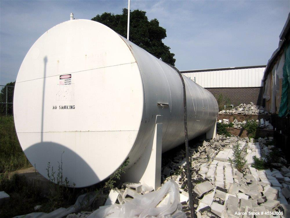 Used-International Production Specialists Tank, Approximately 30,000 Gallons. Double wall, carbon steel, horizontal, flat he...