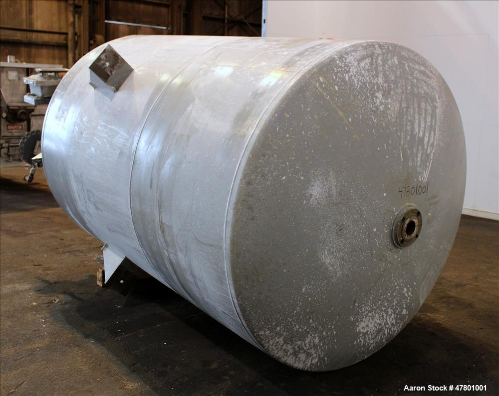 Used- Kennedy Tank & Manufacturing Mix Tank, Approximate 1,800 Gallon, Carbon St