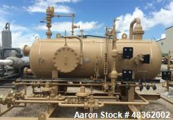Unused- Horizontal Oil, Gas, Water Production Separator.