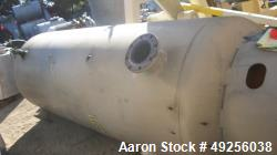 "Used-Brunner Engineering 800 gallon carbon steel air receiver tank. Unit measures 46"" diameter x 9'4"" straight side with max..."
