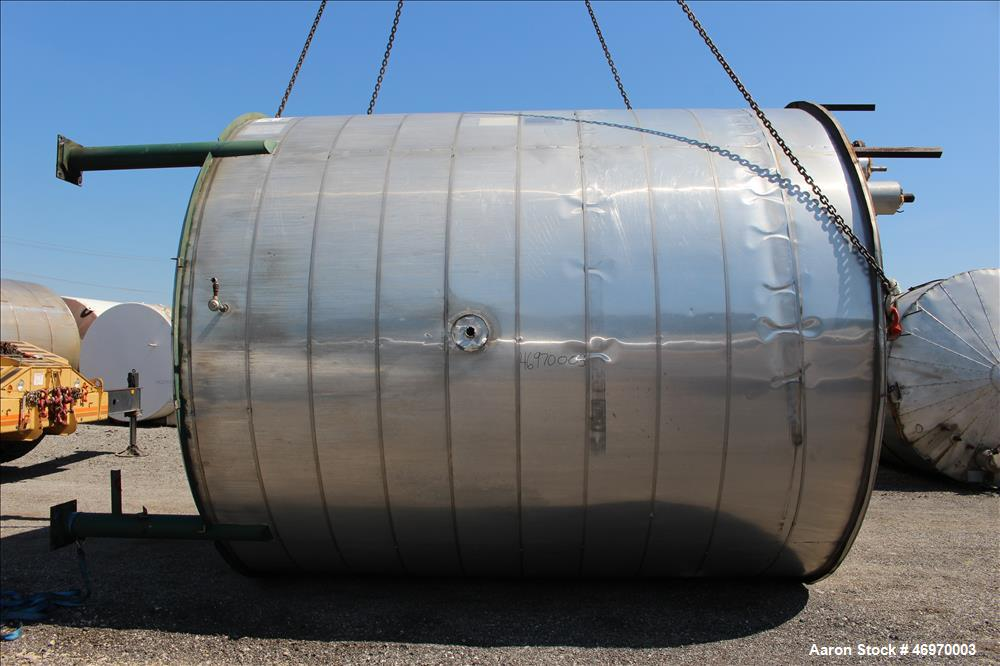 Used- Mid-South Maintenance/MSM Tank, 12,000 Gallon, Carbon Steel, Vertical.