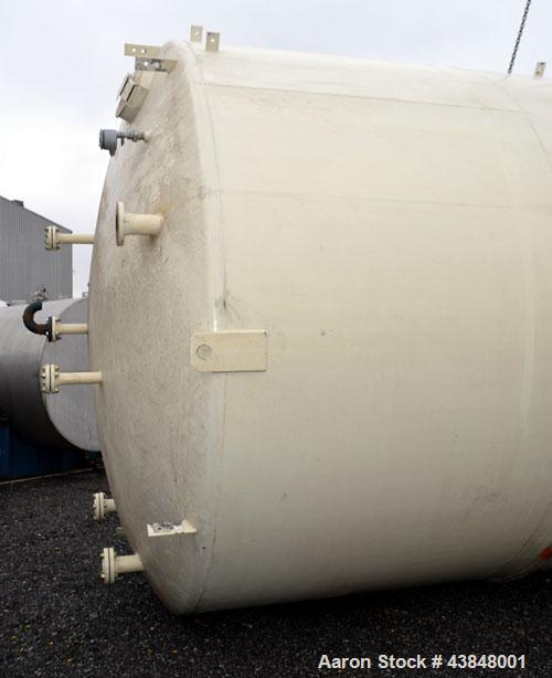 """Used- Modern Welding Company Tank, 17,000 Gallon, SA-36 Carbon Steel, Vertical. 132"""" Diameter x 288"""" straight side, dished t..."""