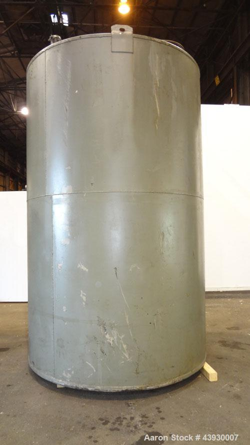 Used-3000 Gallon Carbon Steel Tank, Modern Welding Company, Approximately 7' diameter x 11' high.   Flat Top and Bottom.    ...