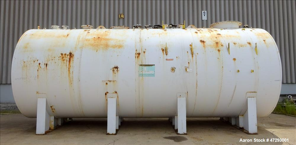 Used- Fireguard Lightweight Double Wall 15,000 Gallon Carbon Steel Tank