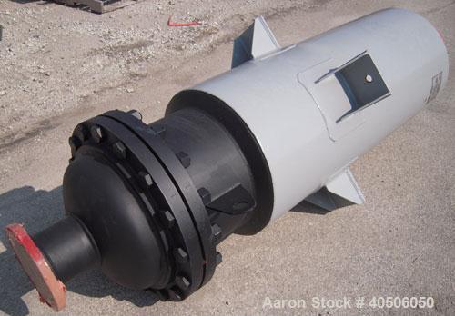 """Unused- Mueller Feed Flash Drum Pressure Tank, 80 Gallon, Model """"F"""", carbon steel, vertical. 18"""" diameter x 57"""" straight sid..."""