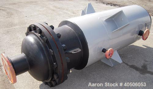 "Unused- Mueller Feed Flash Drum Pressure Tank, 80 Gallon, Model ""F"", carbon steel, vertical. 18"" diameter x 57"" straight sid..."
