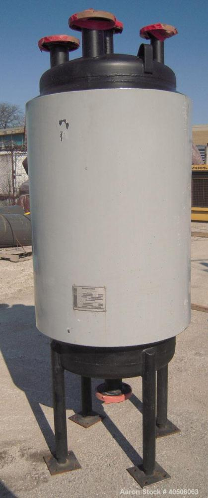 "Unused- Mueller Pressure Tank, 75 Gallon, Model ""F"", SA-516 GR 70 carbon steel, vertical. 24'' diameter x 47'' straight side..."