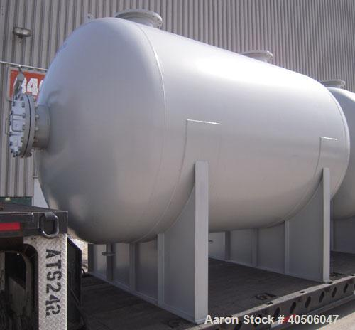 "Unused- Mueller Pressure Tank, 4500 Gallon, Model ""H"", SA-516 GR 70 carbon steel, horizontal. 96"" diameter x 120"" straight s..."