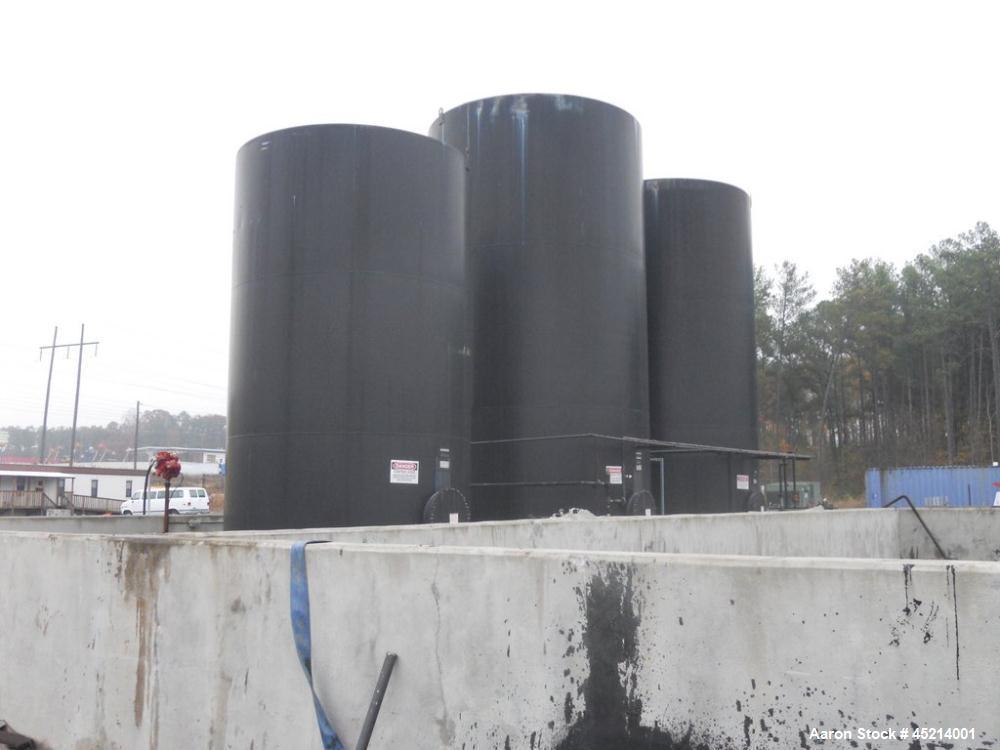 Used- Tank Farm:  (2) 20,000 and (1) 10,000 Gallon Newbury Waste Oil Tanks