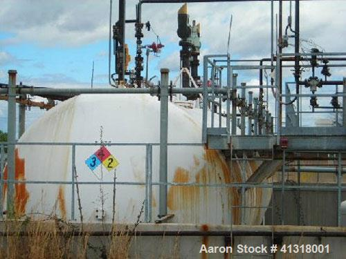 Used- Propylene Oxide Tank, 45,000 Gallon, carbon steel, horizontal. Approximately 7' diameter x 66' long. Built 2000.