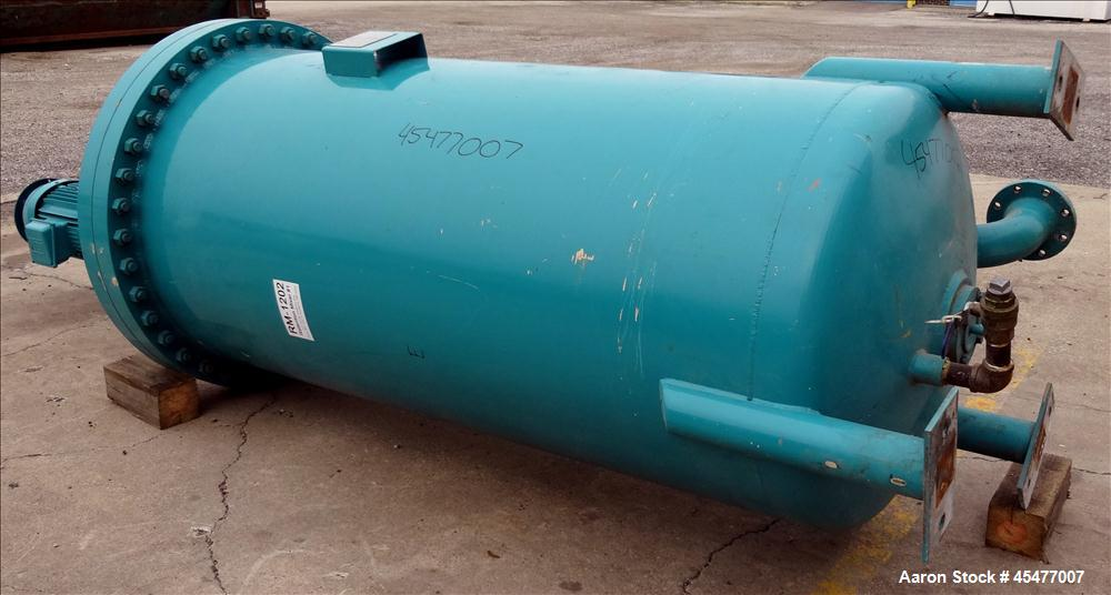 Used- 500 Gallon Carbon Steel Ross Engineering Pressure Tank