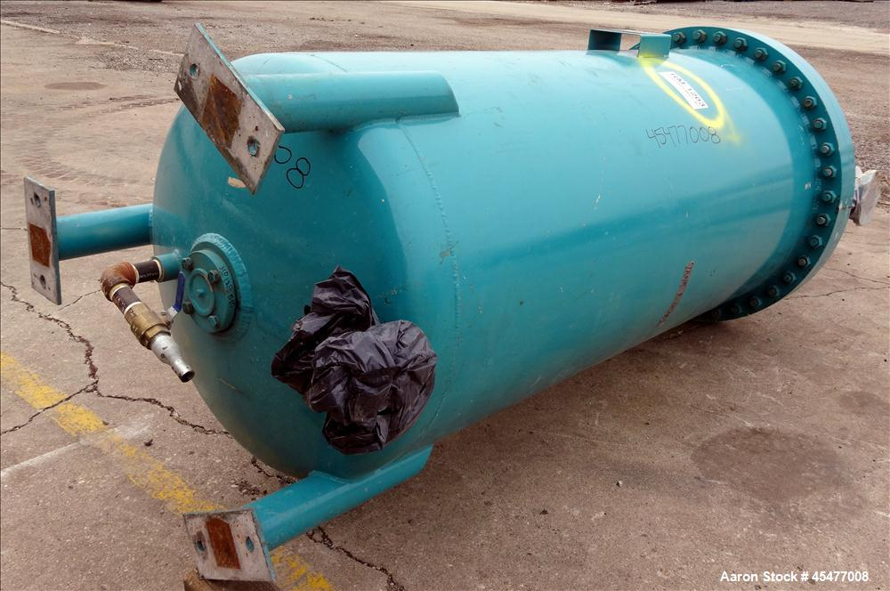 Used- 500 Gallon Carbon Steel Ross Engineering Pressure Tank