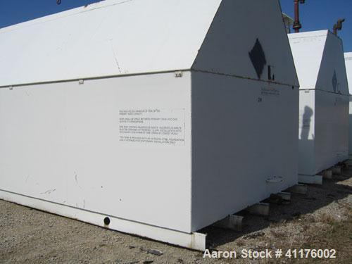 Used-Tank, horizontal, carbon steel, model SC010000. Primary storage tank capacity 10,000 gallons. Secondary containment A-3...