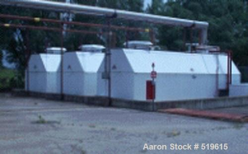 USED: Tank, horizontal, carbon steel, model SC010000. Primary storage tank capacity 10,000 gallons. Secondary containment A-...