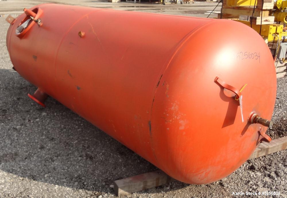 Used- 1040 Gallon Carbon Steel Silvan Industries Pressure Tank