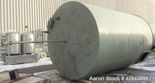 "Used- Welded Production Tank, Carbon Steel, 8812 Gallon (210 BBL), Vertical. Approximately 120"" diameter x 180"" straight sid..."