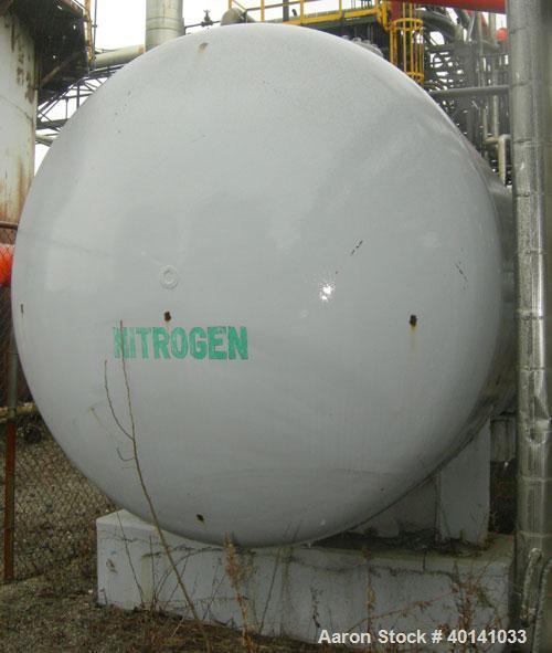 Used: NITROGEN TANK, HORIZONTAL, BULLET