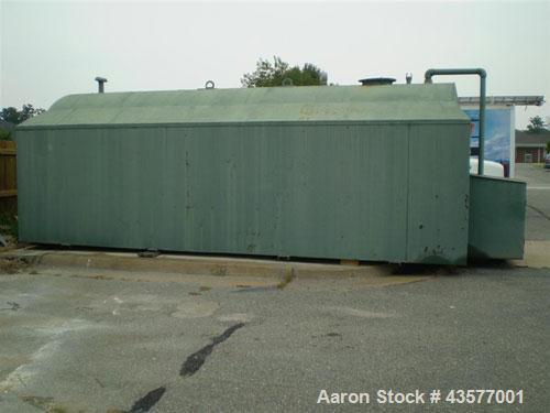 Used-8,000 Gallon Double Walled Diesel Fuel/Oil Tank