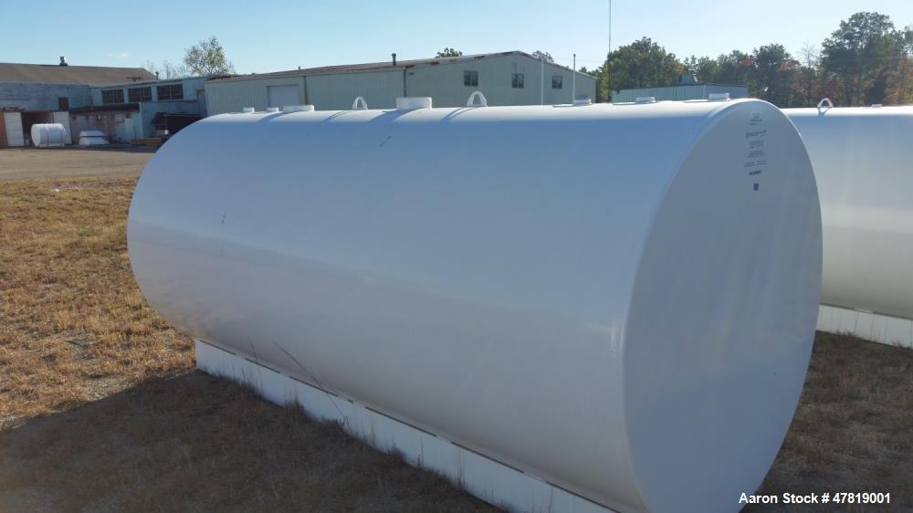 "Unused 2000 Gallon Tank. Dual wall, UL, extra 2"" female e-vent.  No jacket or insulation, contains five fittings and two fem..."