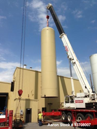 "Used-Buffalo Tank Division 25,000 Vertical Gaseous Storage Tank with max pressure of 225 psi, 10' outside diameter x 45'7"" o..."