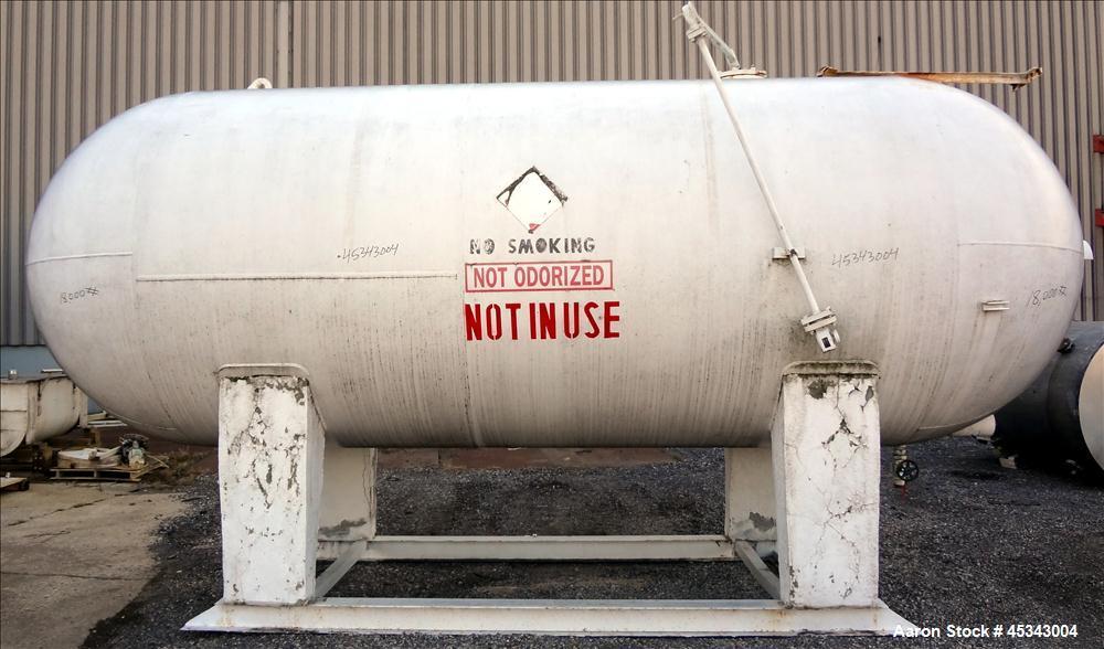Used- 6,000 Gallon Carbon Steel Buehler Tank & Welding Works Pressure Tank