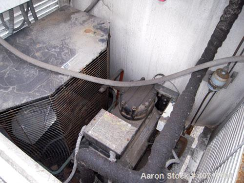 Used- Chemetron Fire Systems 13 Ton Carbon Dioxide Horizontal Tank, model CH000676. Approximately 72'' diameter x 120'' stra...