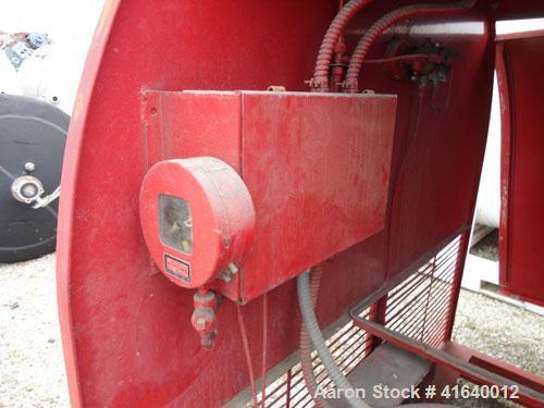 Used- Carbon Steel Chemetron Fire Systems Low Pressure Carbon Dioxide Extinguish