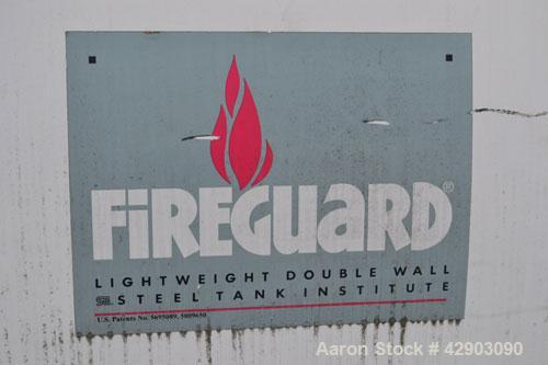 Used-Highland Propane Storage Tank, Approximate 11,000 Gallon, Carbon Steel, Horizontal. Fireguard lightweight double wall. ...