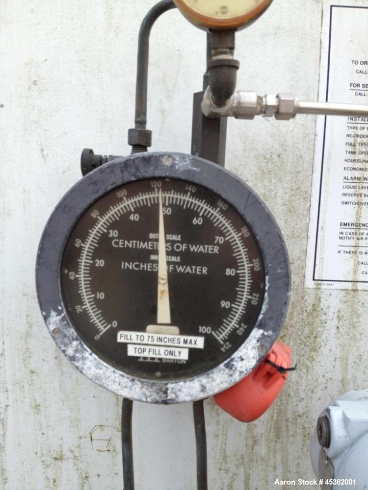 Used- Taylor-Wharton Cryogenic Oxygen Tank