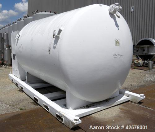 Used- 2000 Gallon Stainless Steel Hydra Rig Cryogenics Liquid Gas Storage Trank