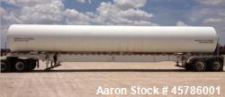 Used- Lubbock 50 Ton Portable CO2 Storage Tank.