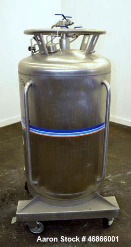 Used- Messer Griesheim Liquid Nitrogen Storage Tank