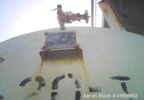 "Used-Mosher 40,000 Gallon Horizontal Tank. 250 psi at 150 deg, 20"" manway, 5/8"" heads, 1"" shell, liquid level sight gauge, 1..."