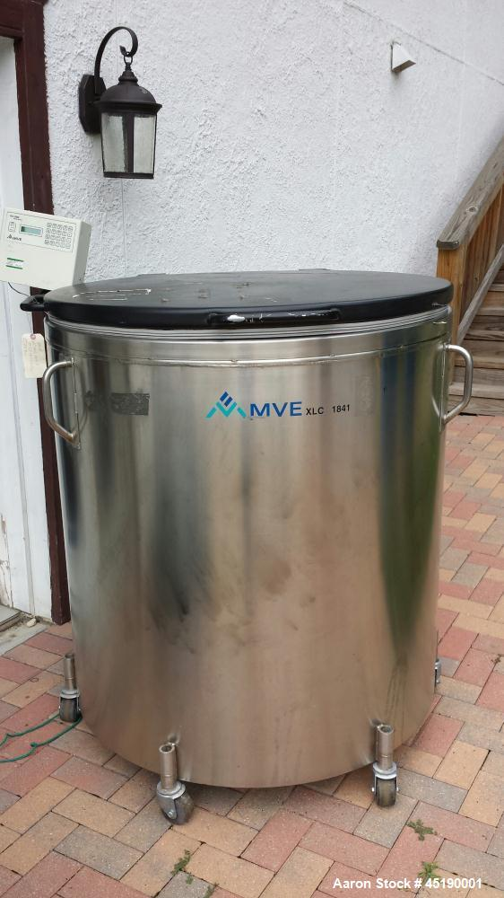 Used- MVE Liquid Nitrogen Storage Tank