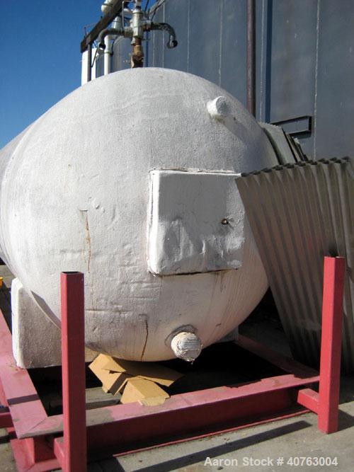 Used- CO 2 liquid storage tank 30' long.
