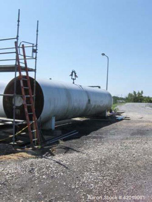 Used- CO2 tank, certified by Tomco Equipment Co, manufacture date 1984, holds 76,000 lbs, carbon steel, approximately 39' lo...