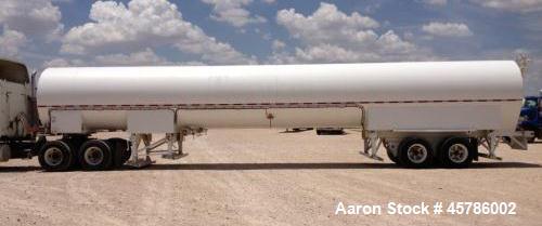 Used- Tomco Equipment Company 50 Ton Portable CO2 Storage Tank