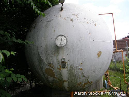 """Used- Trinity Industries Propane Tank, 30,000 Gallon, Horizontal. 109"""" diameter x 65'11"""" overall length. Rated 250 psig at 1..."""