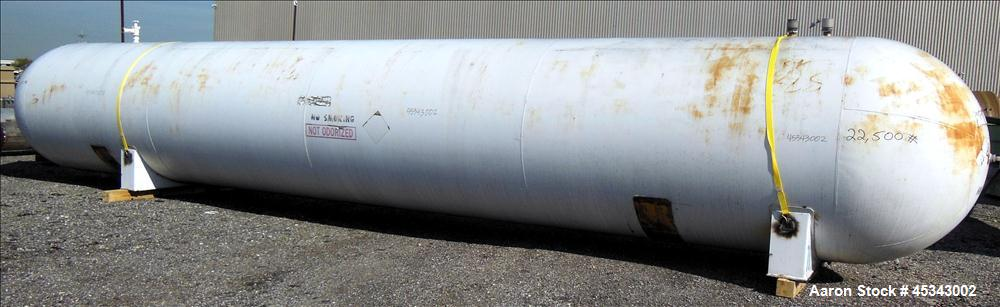 Used- 12,000 Gallon Carbon Steel Trinity Industries Pressure Tank