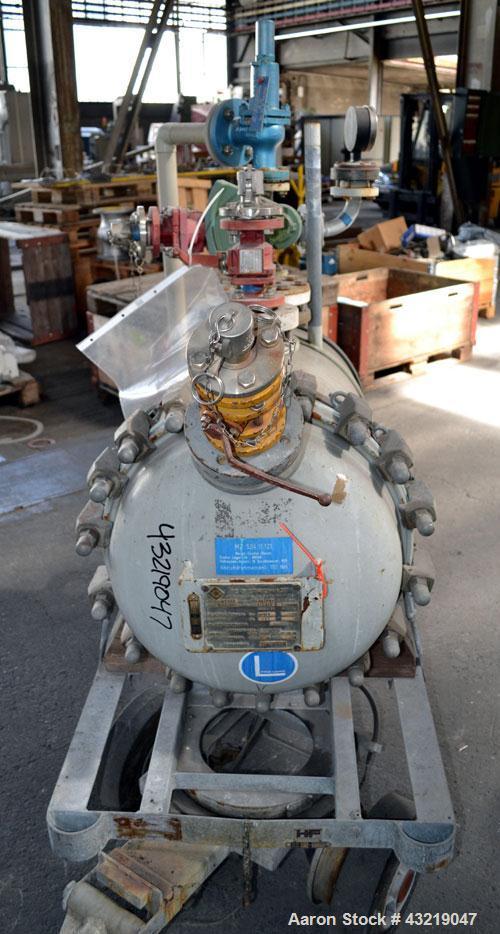 Used- 182 Liter De Dietrich Glass Lined Pressure Tank