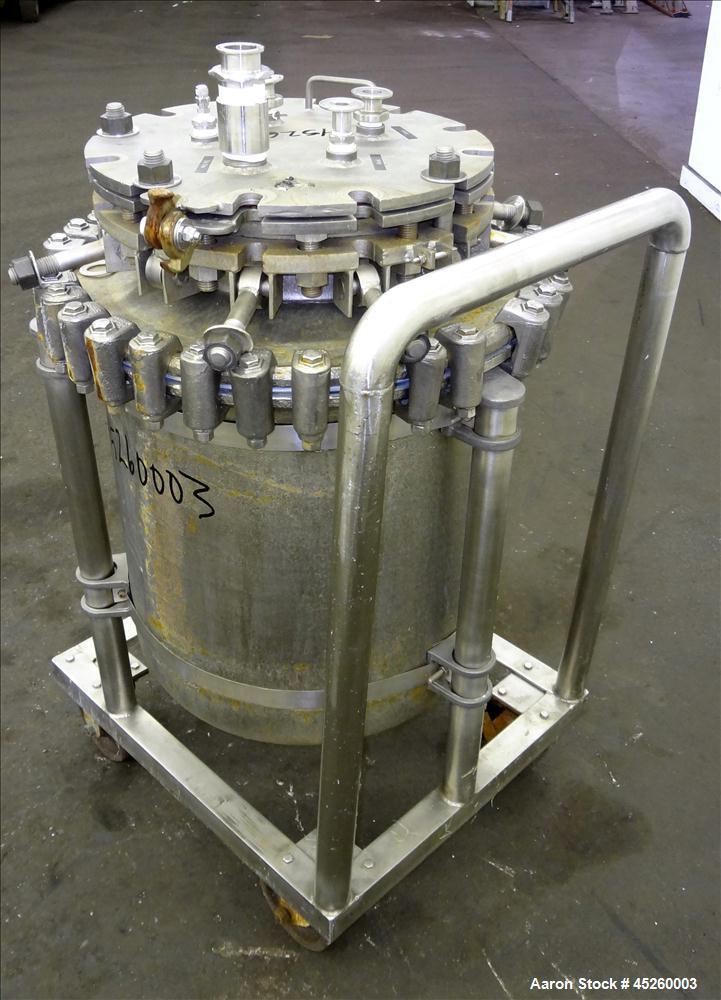 Used- 110 Liter Glascote Glass Lined Pressure Tank